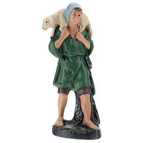 Shepherd with veil and sheep for Arte Barsanti Nativity Scene 20 cm s1