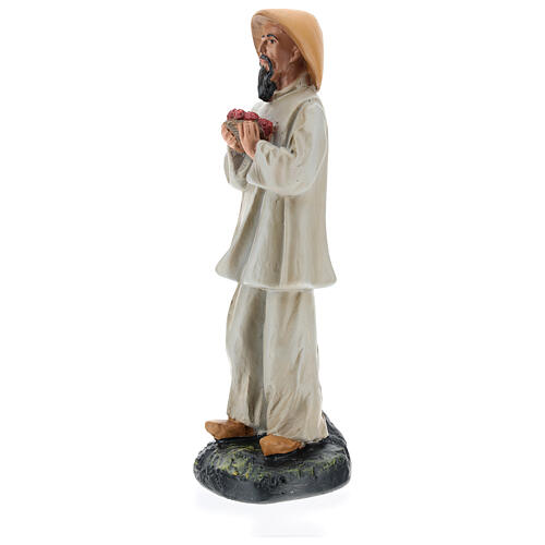 Chinese shepherd with flowers for Arte Barsanti Nativity Scene 20 cm 3