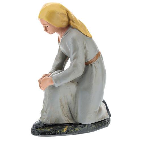 Kneeling shepherd for Arte Barsanti Nativity Scene 20 cm 3