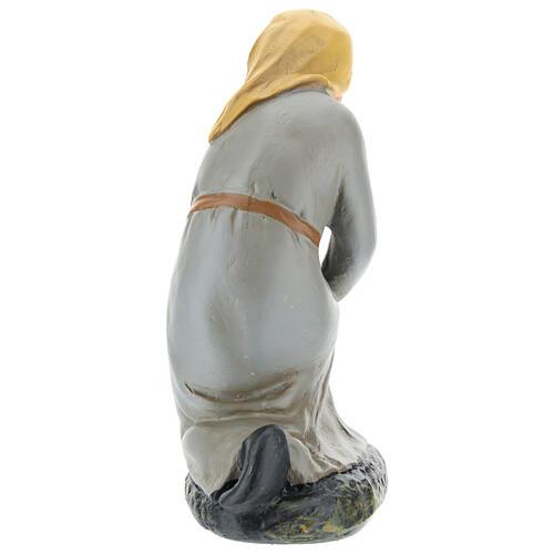 Kneeling shepherd for Arte Barsanti Nativity Scene 20 cm 5