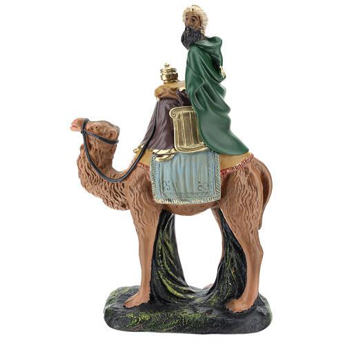 Moor Wise Man on camel for Arte Barsanti Nativity Scene 20 cm 1