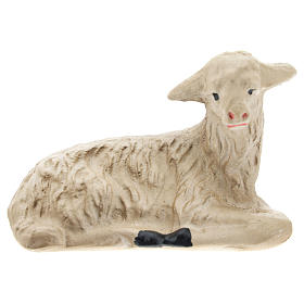 Set Arte Barsanti 4 ovejas yeso para belén 20 cm s3