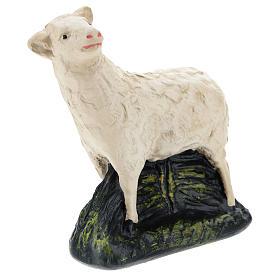 Set Arte Barsanti 4 pecorelle gesso per presepe 20 cm s4