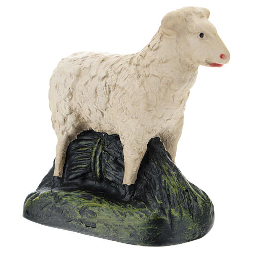 Set Arte Barsanti 4 pecorelle gesso per presepe 20 cm 5