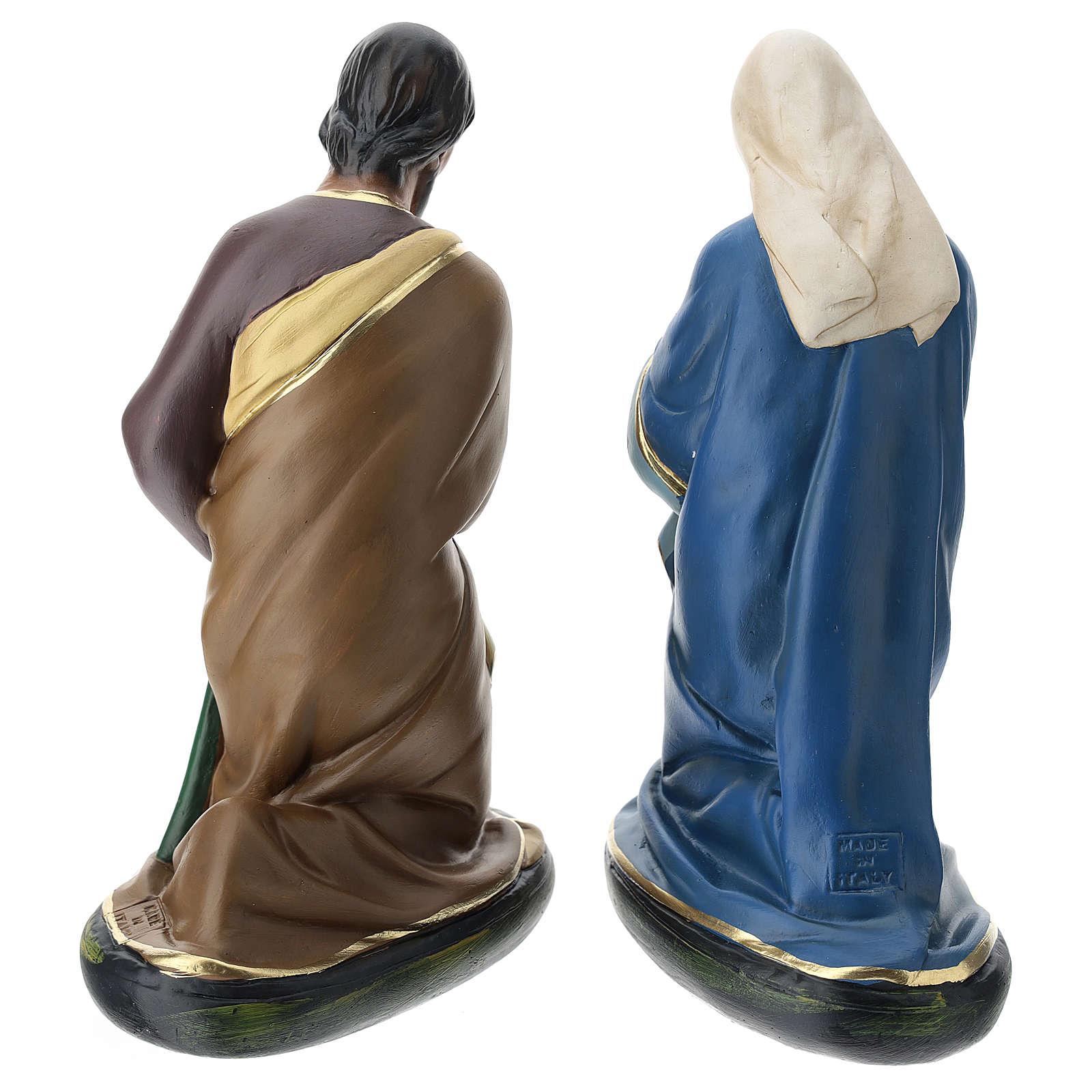 Santons Nativité plâtre peint à la main 30 cm Arte Barsanti 4