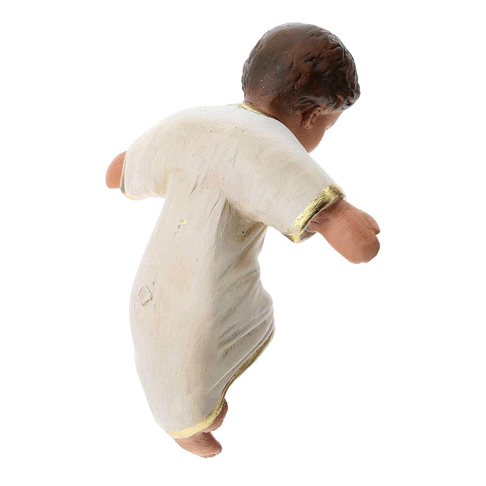 Statue Natività Arte Barsanti gesso dipinto a mano 30 cm 4