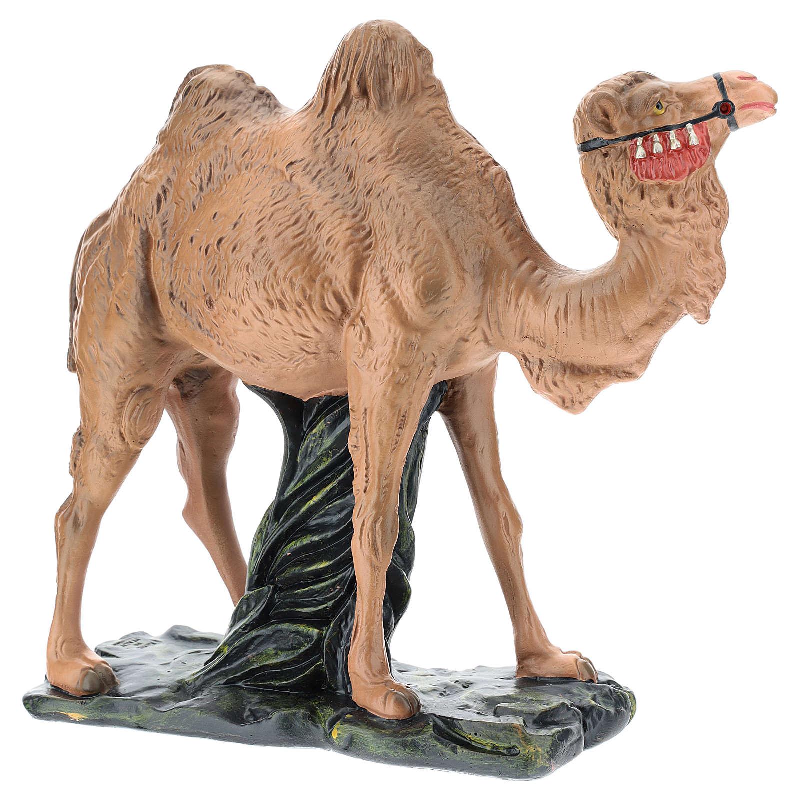 Estatua camello yeso para belén Arte Barsanti 30 cm 4
