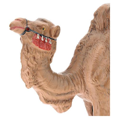 Estatua camello yeso para belén Arte Barsanti 30 cm 2