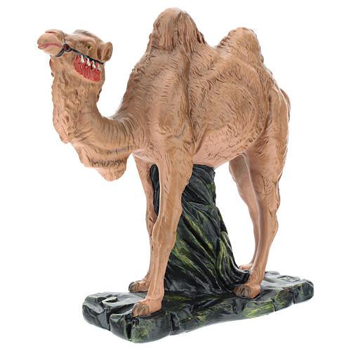Estatua camello yeso para belén Arte Barsanti 30 cm 3