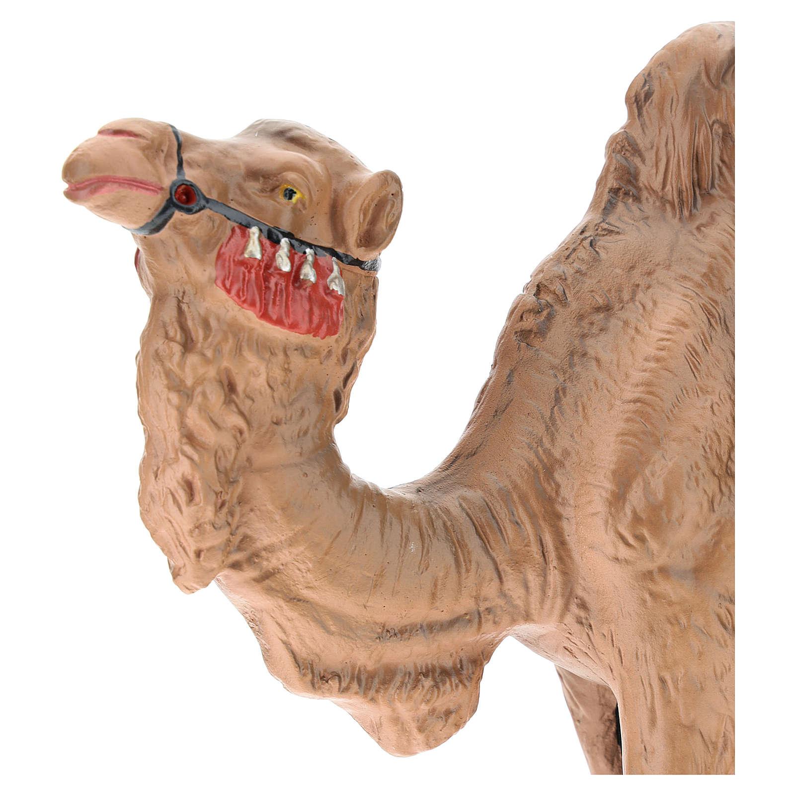 Statua cammello gesso per presepe Arte Barsanti 30 cm 4
