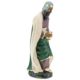 Wise Man Jasper in plaster for Arte Barsanti Nativity Scene 30 cm s4