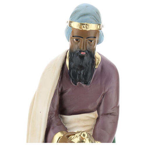 Wise Man Jasper in plaster for Arte Barsanti Nativity Scene 30 cm 2