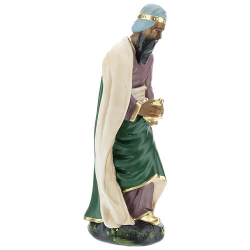 Wise Man Jasper in plaster for Arte Barsanti Nativity Scene 30 cm 4