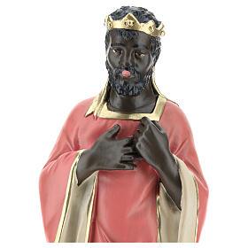 Wise Man Balthazar in plaster for Arte Barsanti Nativity Scene 30 cm s2