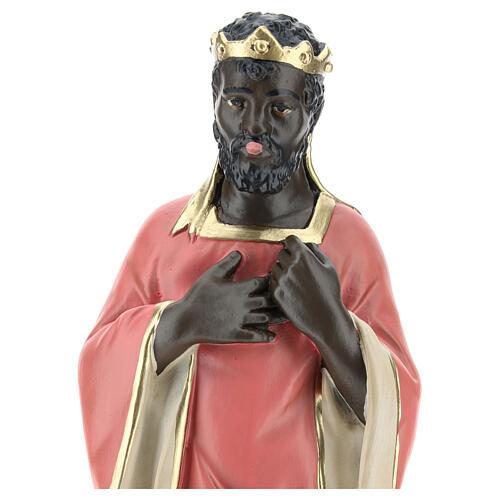 Wise Man Balthazar in plaster for Arte Barsanti Nativity Scene 30 cm 2