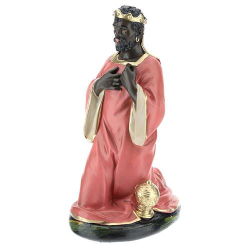 Wise Man Balthazar in plaster for Arte Barsanti Nativity Scene 30 cm 3