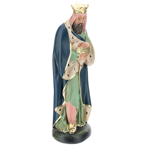 Wise Man Melchior in plaster for Arte Barsanti Nativity Scene 30 cm 1