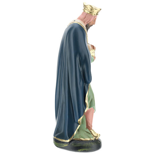 Wise Man Melchior in plaster for Arte Barsanti Nativity Scene 30 cm 4