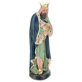 Rey Mago Melchor de yeso 30 cm Arte Barsanti s1