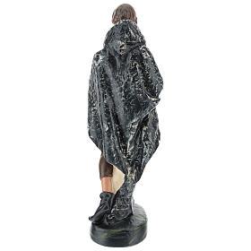 Pastor con capa yeso 30 cm Arte Barsanti s5
