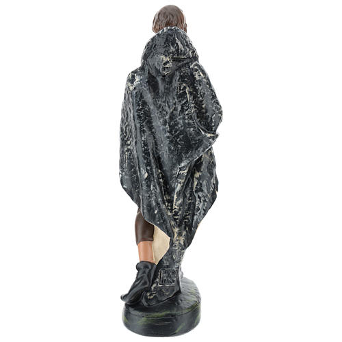 Pastor con capa yeso 30 cm Arte Barsanti 5