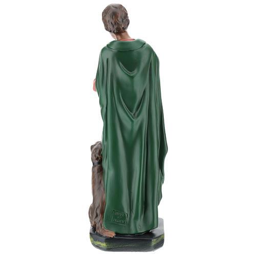 Estatua gaitero con perro yeso 30 cm Arte Barsanti 5