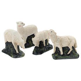 Set Arte Barsanti 4 ovejas para belén 30 cm s2