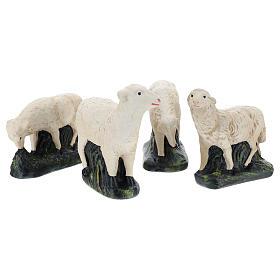 Set Arte Barsanti 4 pecorelle per presepe 30 cm s1