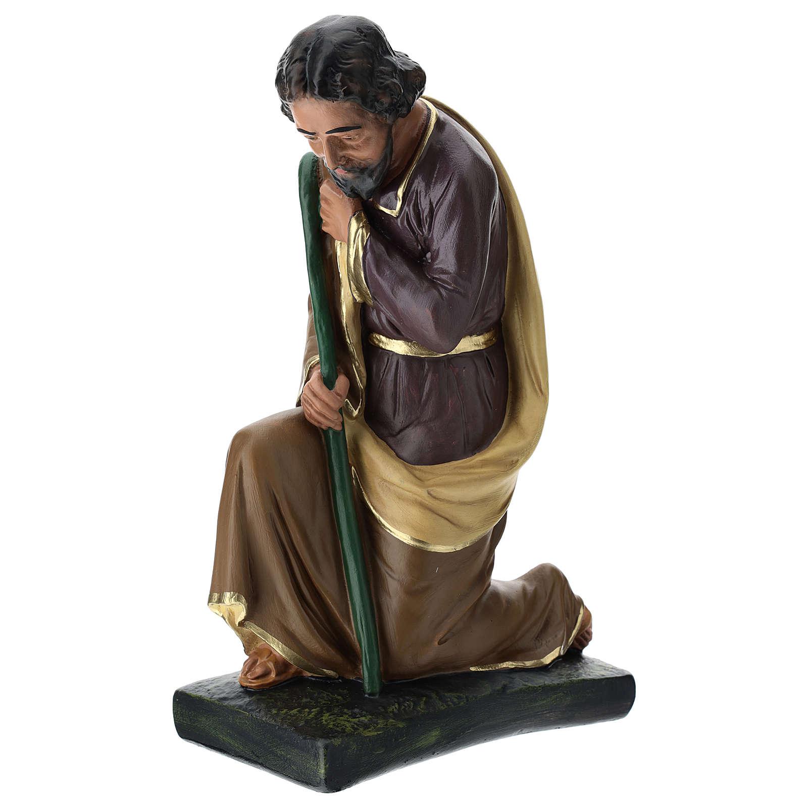 Tríada Arte Barsanti estatuas Natividad yeso pintado a mano 40 cm 4