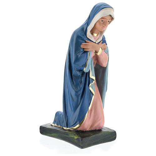 Madonna per presepe 40 cm gesso colorato Arte Barsanti 4