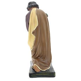 Saint Joseph plâtre coloré pour crèche 40 cm Arte Barsanti s6