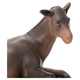 Estatua burro belén 40 cm Arte Barsanti s2