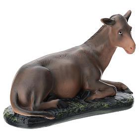 Estatua burro belén 40 cm Arte Barsanti s4