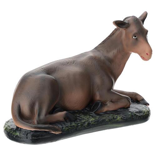 Estatua burro belén 40 cm Arte Barsanti 4