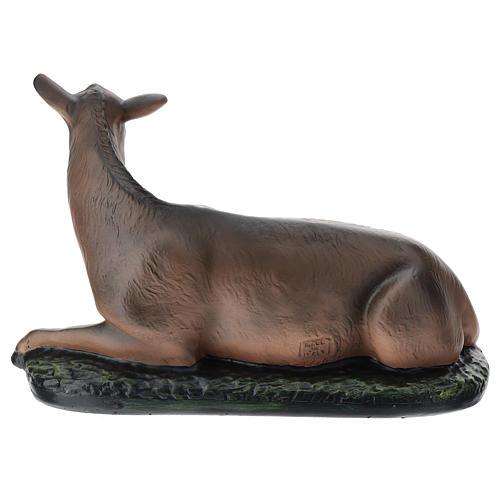 Estatua burro belén 40 cm Arte Barsanti 5