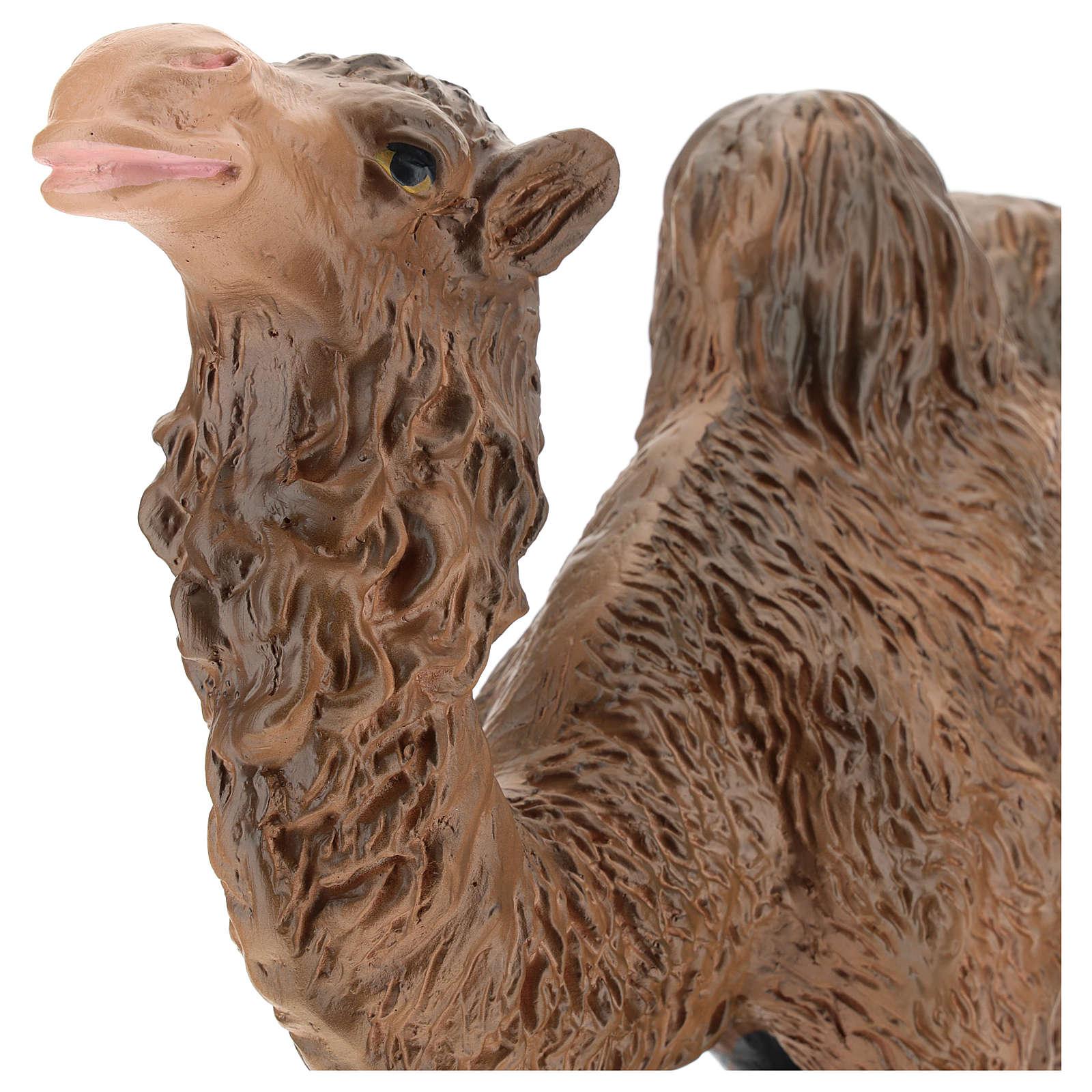 Estatua camello yeso belén 40 cm Arte Barsanti 4
