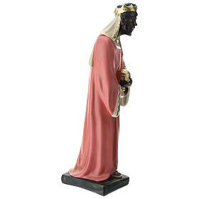Estatuas Arte Barsanti 3 Reyes Magos yeso pintado a mano belenes 40 cm s9