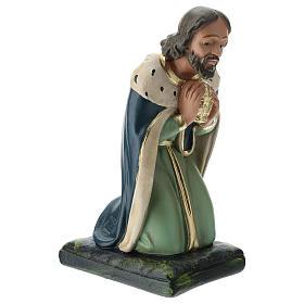 Estatuas Arte Barsanti 3 Reyes Magos yeso pintado a mano belenes 40 cm s10