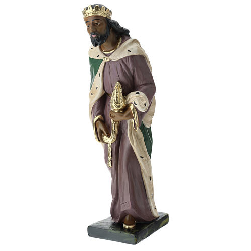 Estatuas Arte Barsanti 3 Reyes Magos yeso pintado a mano belenes 40 cm 5