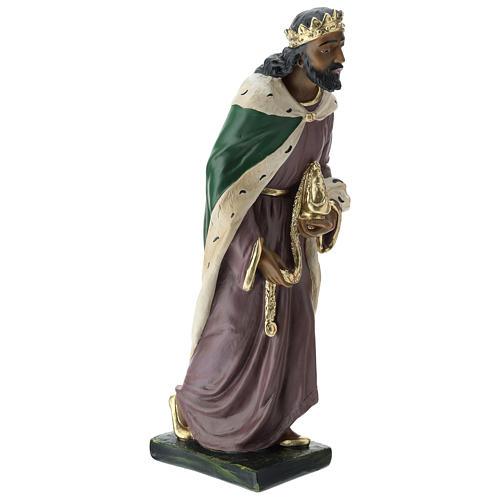 Estatuas Arte Barsanti 3 Reyes Magos yeso pintado a mano belenes 40 cm 8