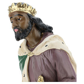 Moor Wise Man in plaster for Arte Barsanti Nativity Scene 40 cm s2