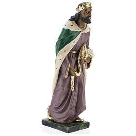Moor Wise Man in plaster for Arte Barsanti Nativity Scene 40 cm s4
