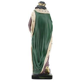Moor Wise Man in plaster for Arte Barsanti Nativity Scene 40 cm s5