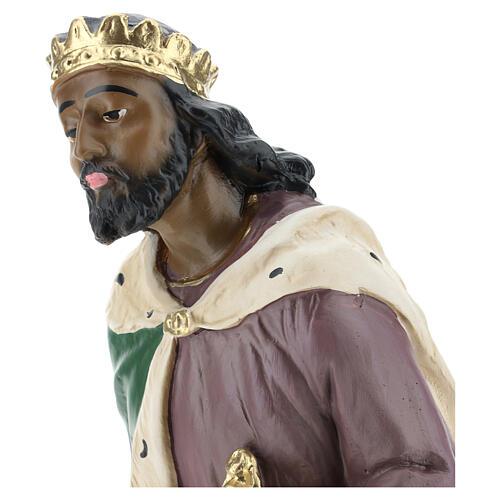 Moor Wise Man in plaster for Arte Barsanti Nativity Scene 40 cm 2