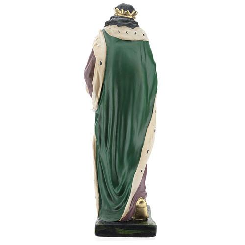 Moor Wise Man in plaster for Arte Barsanti Nativity Scene 40 cm 5