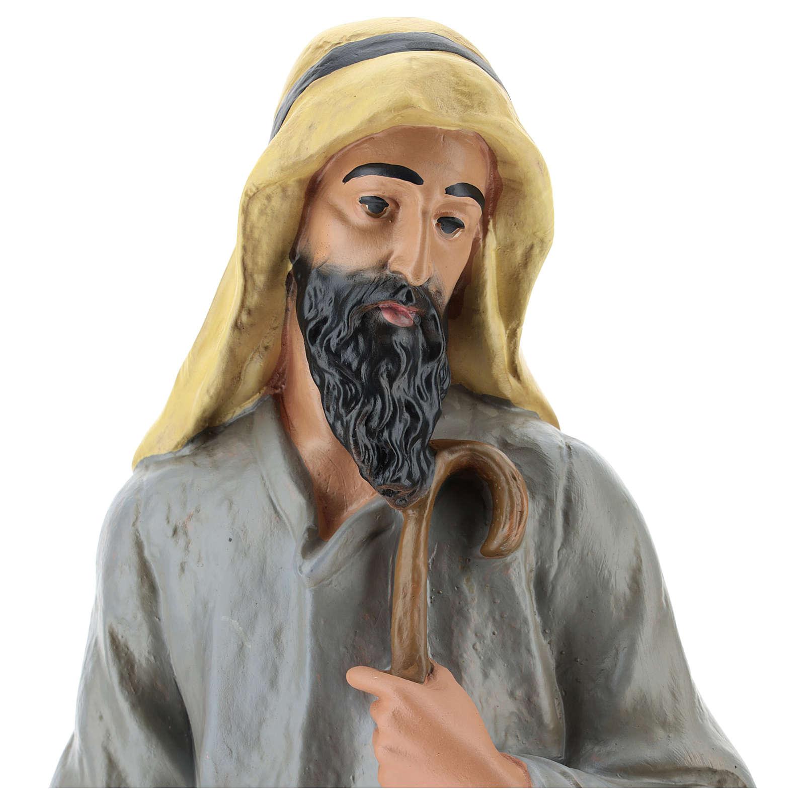 Statua pastore arabo gesso 40 cm Arte Barsanti 4