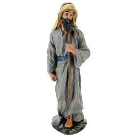 Statua pastore arabo gesso 40 cm Arte Barsanti s1