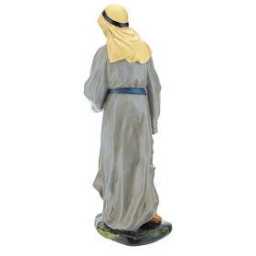 Statua pastore arabo gesso 40 cm Arte Barsanti s5