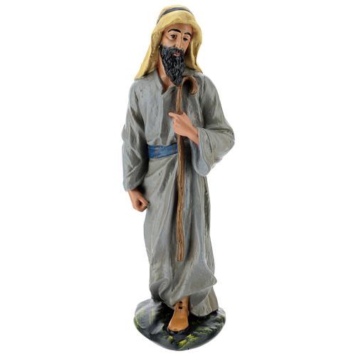 Statua pastore arabo gesso 40 cm Arte Barsanti 1