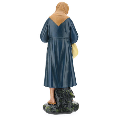 Estatua campesina lío y bastón belén 40 cm Arte Barsanti 5